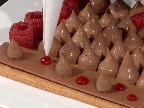 Milk Chocolate Crémeux & Raspberry Tart - 70