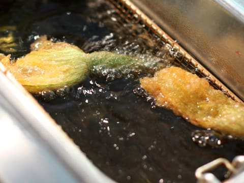 Tempura Courgette Flowers - 7