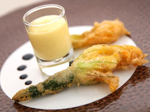 Tempura Courgette Flowers - 8