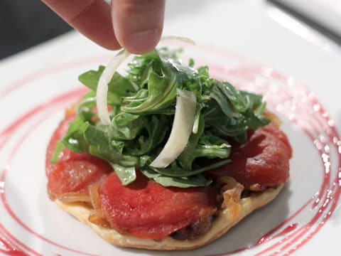 Tomato Tarte Tatin with Rocket & Parmesan - 24
