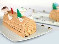 Traditional Bûche de Noël