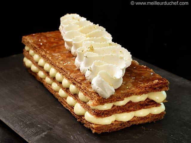 Vanilla Millefeuille Illustrated Recipe Meilleurduchef Com