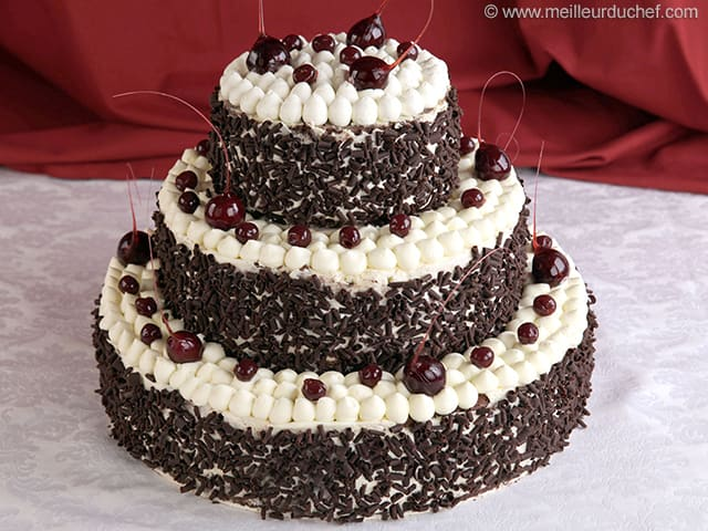 black forest wedding cake black forest wedding cake illustrated recipe 11863