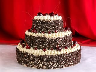 Black Forest Wedding Cake