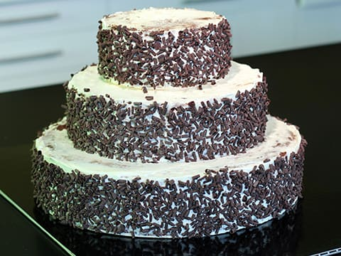 Black Forest Wedding Cake - 131