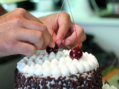Black Forest Wedding Cake - 152