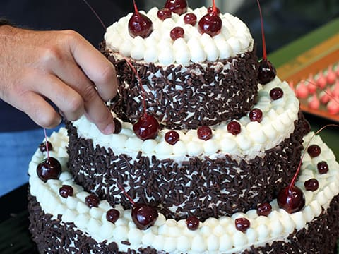 Black Forest Wedding Cake - 153