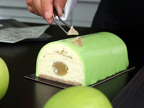 Yule Log with Granny Smith Apple Mousse - 122