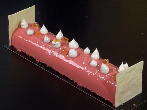 Yule Log with Grapefruit Mousse - 105
