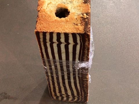 Zebra Loaf Cake, Chocolate & Coffee Insert - 114